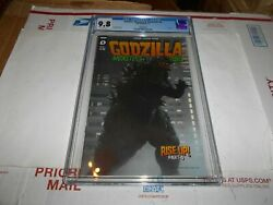 Godzilla Monsters And Protectors 4 Cgc 9.8 Photo Variant Combined Shipping Ok