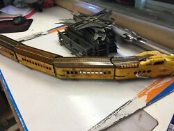 Marx Tin Wind-up M10005 Union Pacific Streamline Train With Track