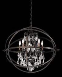 Troy F2996 - Byron Collection Chandelier In Vintage Bronze