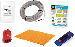 Schluter Ditra Signature Floor Heating Kit -225 Square Feet- Includes Touchscree
