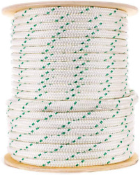 Composite Double Braid Pulling Rope 5/8 Inch X 600 Feet - High Strength Premiu