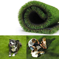 Gl Artificial Grass Turf Lawn 0.8inch Realistic Synthetic Grass Mat Indoor Out