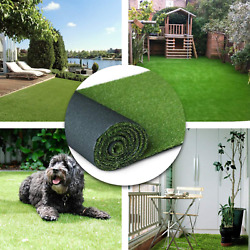 Artificial Grass Turf Lawn - 13ftx50ft650 Square Ft Indoor Outdoor Pet Synthet