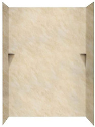 Swan Sk366072.128 Solid Surface Glue-up 5-panel Bathtub Wall Kit 36-in L X 60-i