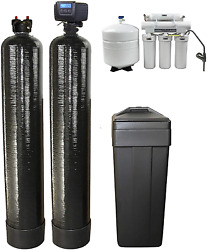 Durawater Fleck 5600sxt Metered Softener Upflow 1.5 Cubic Ft Carbon Reverse Osmo