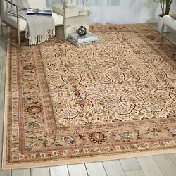 Nourison Ki11 Antiquities Ivory Rectangle Area Rug, 9-feet 10-inches By 13-feet