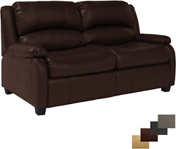 Recpro Charles Collection | 65 Rv Hide A Bed Loveseat | Memory Foam Mattress |