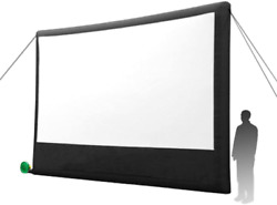 Open Air Cinema Portable Pop-out Home Theatre Projection Movie Screen Kit - 16and039