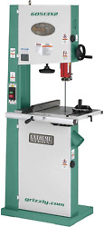 Grizzly Industrial G0513x2-17 2 Hp Bandsaw W/cast-iron Trunnion