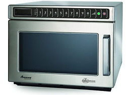 Amana Commercial Hdc12a2 Heavy-duty Microwave Oven 1200w Stainless-steel