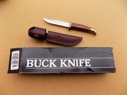 Buck 102 Woodsman Knife Cocobolo And Brass Handle Made In 1998