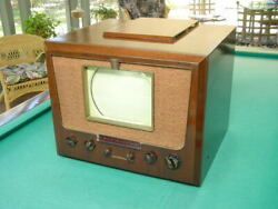 Vintage 1949 Rca 8tr29 Table Top 10 Tv With Am-fm Radio