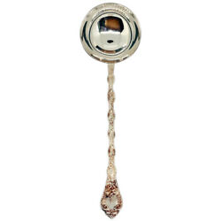 French Odiot Demidoff Pattern .950 Sterling Silver Soup Ladle