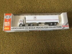 Con-cor Herpa Ho Scale Usps U.s. Postal Mail Truck Tractor And Box Trailer