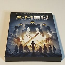 X-men Days Of Future Past Ultimate Edition 3d Blu-ray 2-disc Set Sleeve And Comic