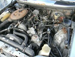 1982 Mercedes Turbo Diesel Engine And Drive Train