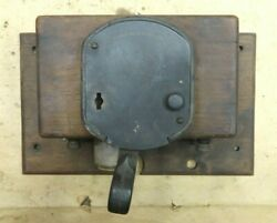 Vintage Atwater Kent Ignition Switch / Coil Box Original