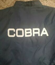 Vintage Cobra Jacket Shelby Racing Driving Ford Xl