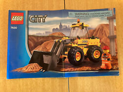 Rare Lego City 7630 Front-end Loader 99.9 Complete Used/no Box