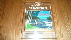 Hamms Beer Sign Light Non Motion Vintage Toe In Water Bear