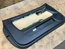 Audi A4 2005 Convertible Front Left Driver Side Interior Door Panel Cover Factry