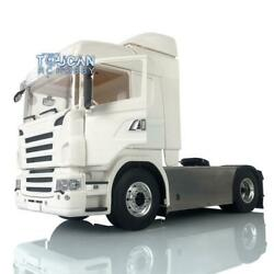 Lesu 1/14 4x4 Chassis Hercules Cabin Radio Light Rc Tractor Truck For Scania