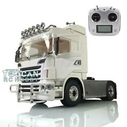 Lesu 1/14 4x4 Metal Chassis Sound Hercules Rc Tractor Truck Radio Esc For Scania