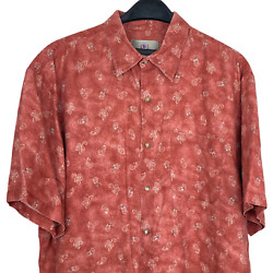 The Territory Ahead Menand039s Xxl 100 Linen Paisley Button Down Southwest Shirt