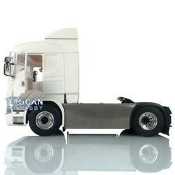 1/14 4x4 Chassis Hercules Cabin Motor Rc Tractor Truck Light Esc For Scania