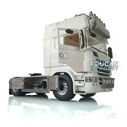 Lesu 1/14 4x4 Metal R730 Chassis Hercules Cabin Tractor Truck Model For Scania