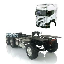 Lesu 1/14 4x4 Metal Chassis Diy Hercules Cabin 801 Rc Tractor Truck For Scania