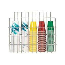 Dispense-rite - Wr-cc-22 - Surface Mounted Wire Cup Caddy