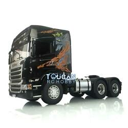 1/14 4x4 Metal Chassis Gearbox Hercules R730 Rc Tractor Truck Gripen For Scania