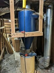 Cyclone Dust Collector For Home/small Shop, Includes Remote, Impeller, Dust Bags