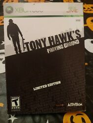 Tony Hawk's Proving Ground - Limited Edition Microsoft Xbox 360, 2007 Complete