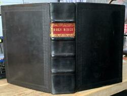 1649 King James And039holy Bibleand039 Fine Binding Genealogies Prayer Book And Concordance