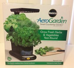 Miracle-gro Aerogarden 3-pod Indoor Sprout Led Plus With Herb Seed Kit - Aero606
