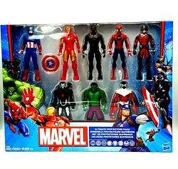 Marvel Ultimate Protectors Avengers Action Figures 8-pack Gift Set Exclusive