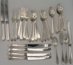 And Co Sterling Faneuil 7 Four Pc Place Settings 28 Pcs No Mono M Mark