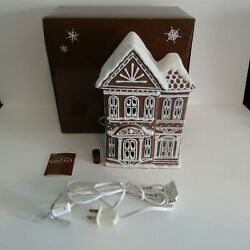 Midwest Of Cannon Falls Baker Street Brownstone Rowhouse Christmas Gingerbread