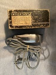 Vintage Andis Junior Deluxe Model Jd Electric Hair Clippers Tested Free Shipping
