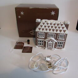 Midwest Of Cannon Falls Baker Street Colonial House Christmas Gingerbread