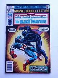MARVEL DOUBLE FEATURE CAPT. AMERICA amp; BLACK PANTHER #21 FN VF