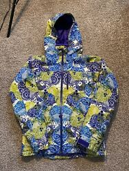 Womenandrsquos Small The Summit Series Floral Down Jacket Coat Hyvent Alpha