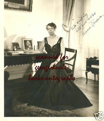 Eleanor Rooseveltphotograph- Signed - As First Lady White House