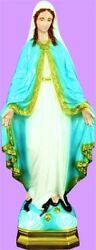 Our Lady Of Grace And Grotto Garden Statue