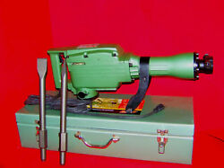 Electric Demolition Jack Hammer W/ Punch And Chisel Tools