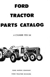 Ford Tractor Parts Manual Naa 600 601 800 801 2120 4120