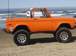Roadster Roll Bar - Roll Cage 66-77 Ford Bronco