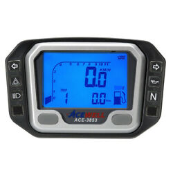 Acewell 3853 Digital Speedo And Tacho With Adr Approval Pilot Lights And Fuel Gauge
